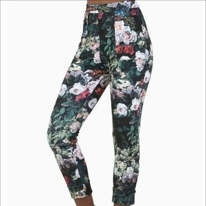 Blackmilk Take My Monet Pullon floral pant legging